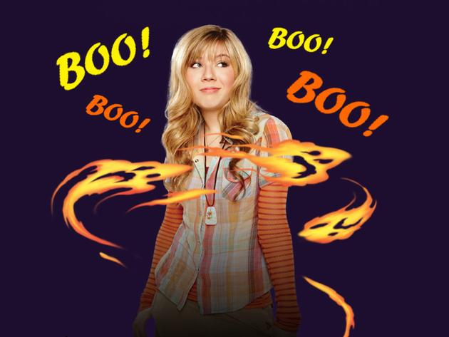 iCarly Gets Spooked!