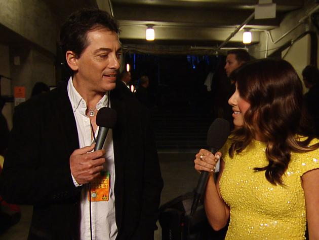 Kids' Choice Awards 2013: Backstage With Scott Baio