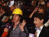 Kids' Choice Awards 2013: Noah and Troy's Slime Helmet