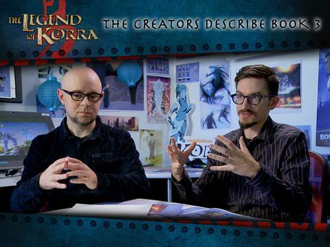 Korra Creators Discuss Book 3