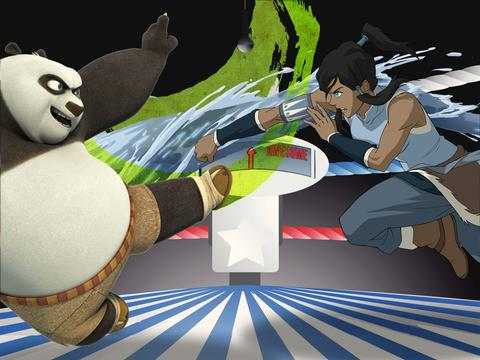 Korra Vs. Po: Who's Got The Best Moves!