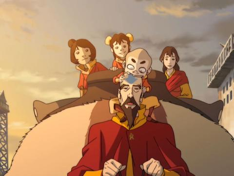 """Legend of Korra: """"Welcome to Republic City: Papa Tenzin"""""""