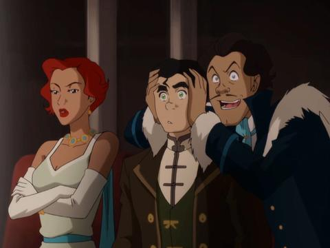 "Legend of Korra: The Sting: ""Bolin the Mover Star"""
