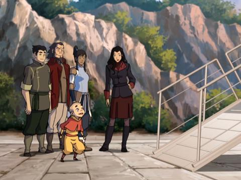 "Legend of Korra: Rebirth of a Nation : ""Going to Ba Sing Se"""