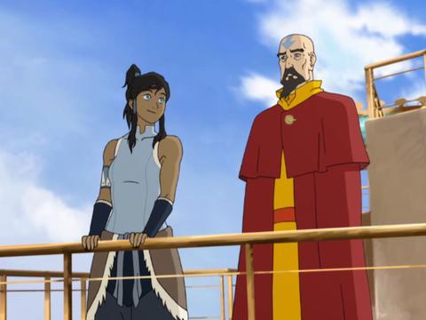 "Legend of Korra: The Earth Queen: ""Diplomatic Mission"""