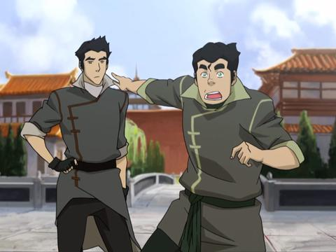 "Legend of Korra: In Harm's Way: ""Bolin's Breaking News!"""