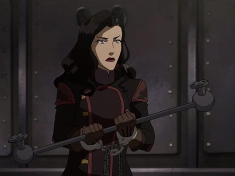 "Legend of Korra: Long Live the Queen: ""Prison Break"""