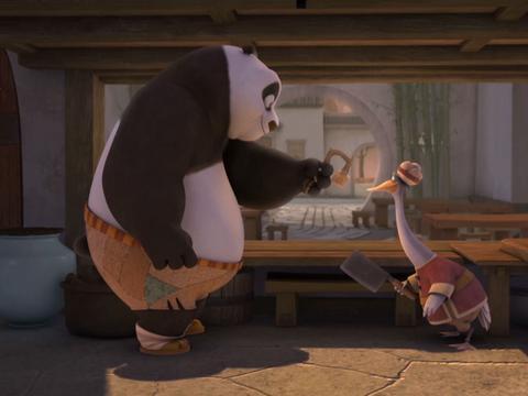 "Kung Fu Panda: ""Present Tense: Worthwhile Gift"""