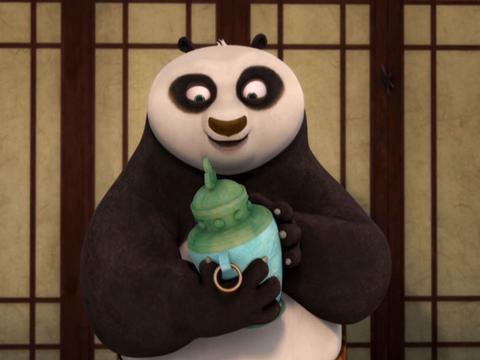"Kung Fu Panda: ""Po Fans Out: Dragon Warrior Daydream"""