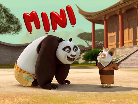"Kung Fu Panda: ""Alphabet Animal Style"""