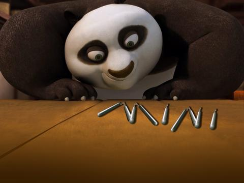 Kung Fu Panda Mini: The World's Smallest Nunchucks