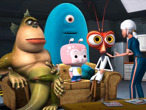 "Monsters vs Aliens: ""Attack of the Movie Night: Feature Film Sneak-In"""