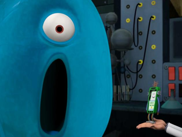 "Monsters vs. Aliens: Screaming Your Calls/The Time-Out that Wouldn't End: ""Smartie Phone"""
