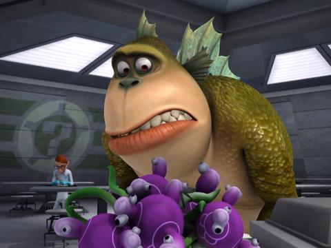 "Monsters vs Aliens: ""The Sorry Syndrome: Live Protein Diet"""