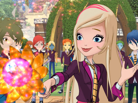 REGAL ACADEMY | S1 | Episodio 15 | Rose e o rei dos dragões