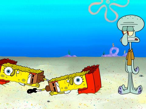 "SpongeBob SquarePants: ""Squid Defense: Tricks of the Trade"""