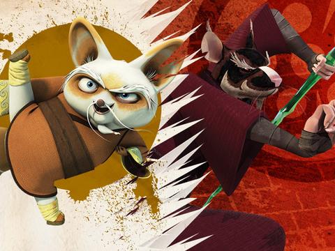 LAS TORTUGAS NINJA - Shifu vs. Splinter