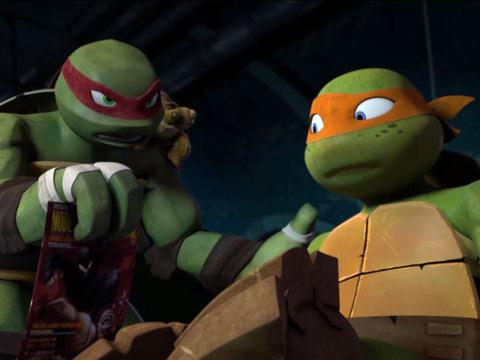 "Teenage Mutant Ninja Turtles: Slash and Destroy: ""Modern Ninja Pizza"""
