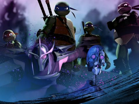 "Teenage Mutant Ninja Turtles: ""Catch Up"""