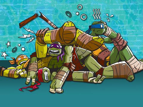 "Teenage Mutant Ninja Turtles: ""Epic Fight Fails!"""