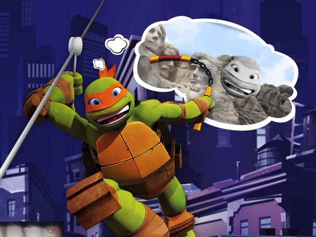 "Teenage Mutant Ninja Turtles: ""Mikey's Zipline"""