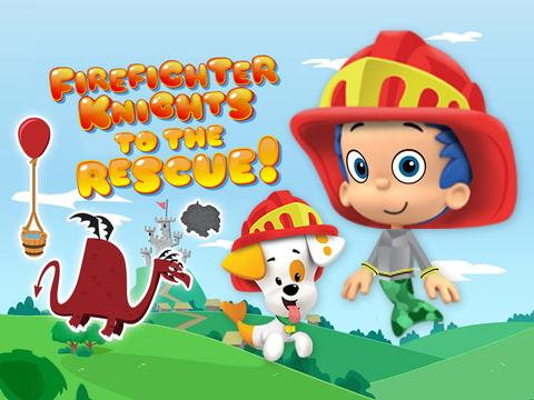 Bubble Guppies Firefighter Knights to the Rescue!