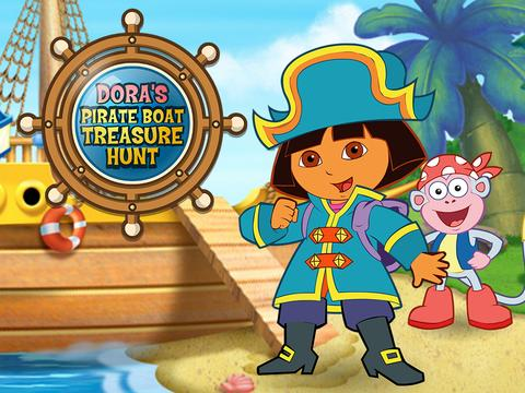 Даша и пиратский корабль (Даша - путешественница (0+))
