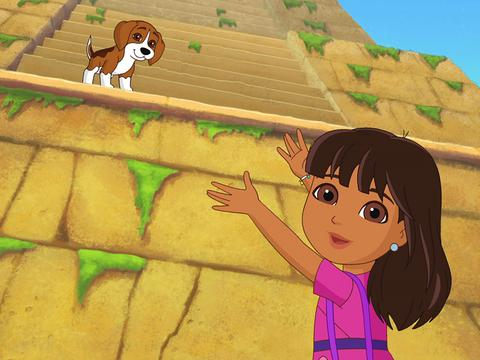 Dora and Friends: Puppy Pyramid Run