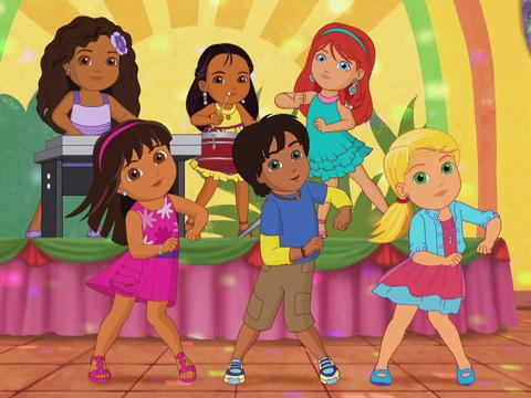 Dora and Friends: How to Dance Song