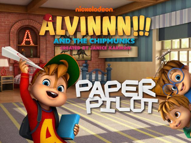 Alvinnn!!! and the Chipmunks: Paper Pilot