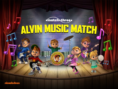 ALVINNN!!! and The Chipmunks: Music Match