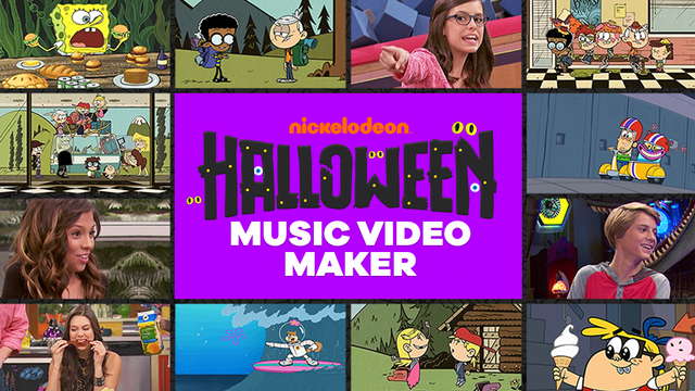 Nickelodeon halloween music video maker funny game for House music maker