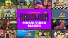 Halloween Music Video Maker