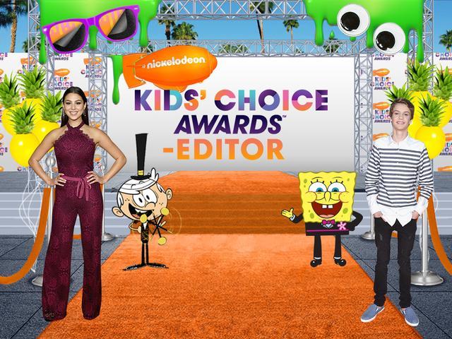 Kids' Choice Awards-Editor