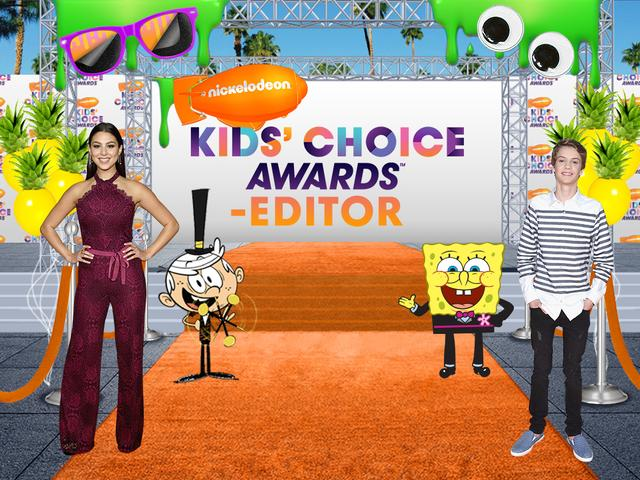 Kids Choice Awards-Editor