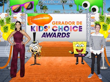 Gerador de Kids' Choice Awards