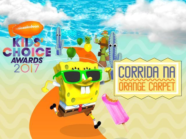 KCA: corrida no tapete laranja
