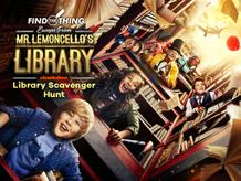Escape from Mr. Lemoncello's Library: Library Scavenger Hunt