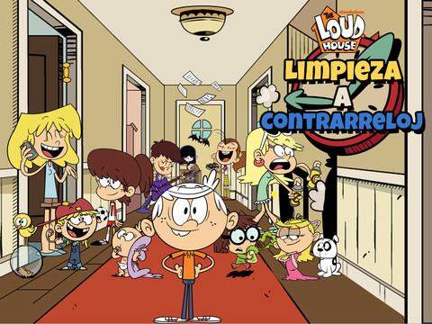 The Loud House: Limpieza a Contrarreloj