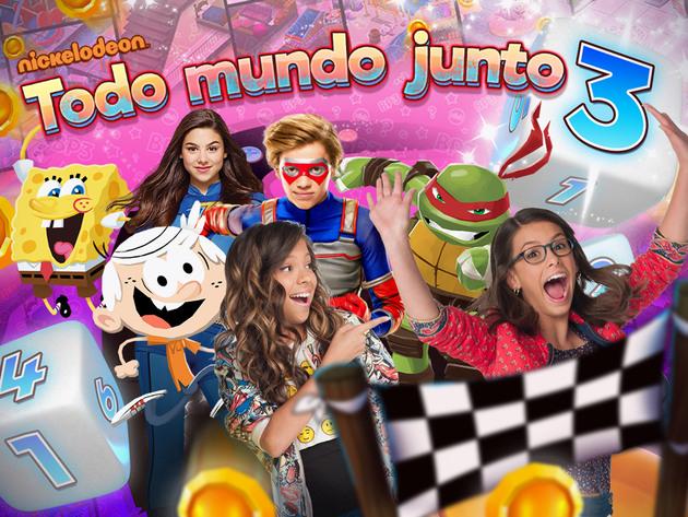 Nickelodeon Todo Mundo Junto 3