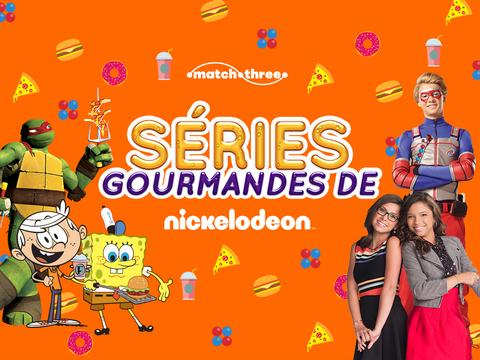 NICKELODEON : Séries gourmandes