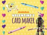 Nickelodeon Valentine's Day Card Maker