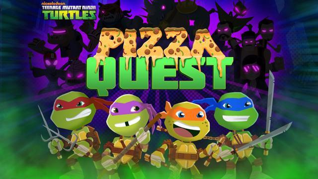teenage mutant ninja turtles pizza quest
