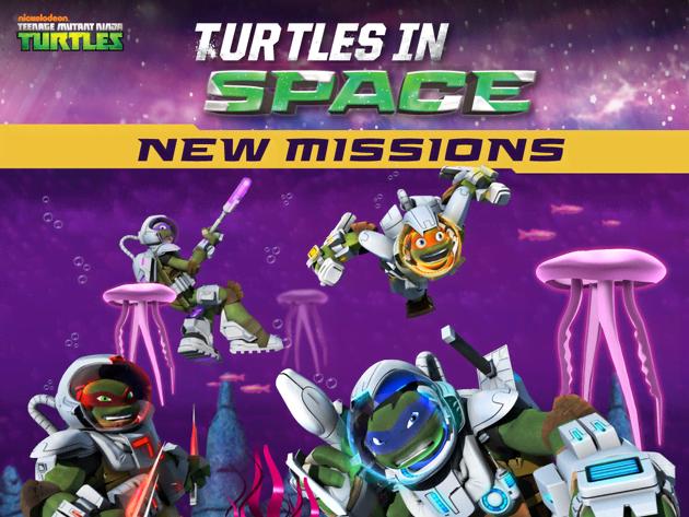 TMNT: Turtles in Space
