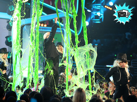 The 2013 Kids' Choice Awards Were Crazy…and Slimy!