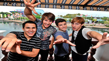 Beroemdheden tijdens de Kids' Choice Awards 2013