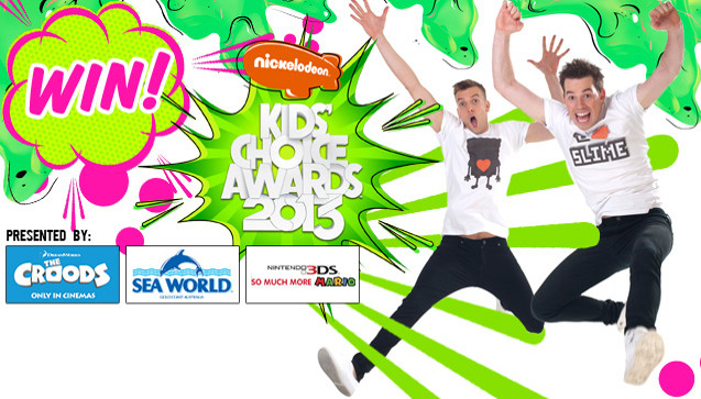 Win an L.A. swag pack from Luke and Wyatt's trip to the KCAs!