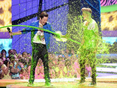 Who Got Slimed at the 2014 KCA?!