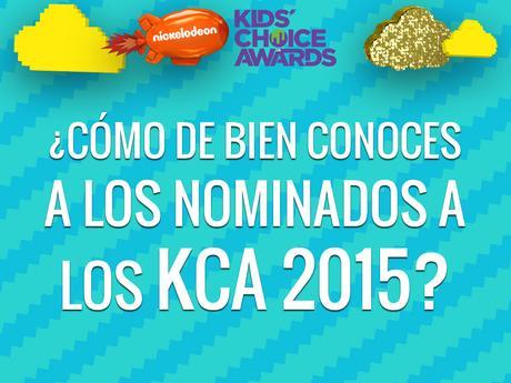¿Cómo de bien conoces a los nominados a los KCA 2015?