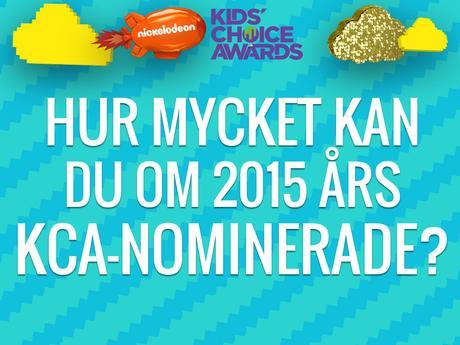 Hur mycket kan du om 2015 års KCA-nominerade?